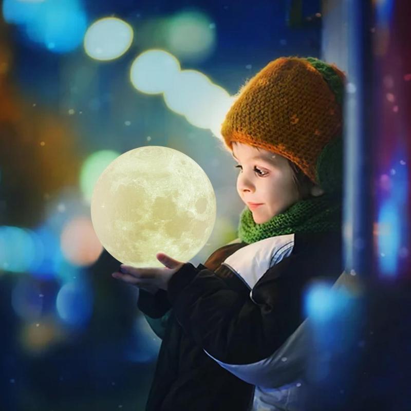 Bảng giá Đèn sạc mặt trăng in 3D