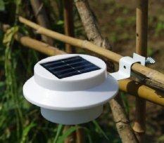 Đèn sạc năng lượng mặt trời cảm biến thông minh 3 led chìm (Trắng)