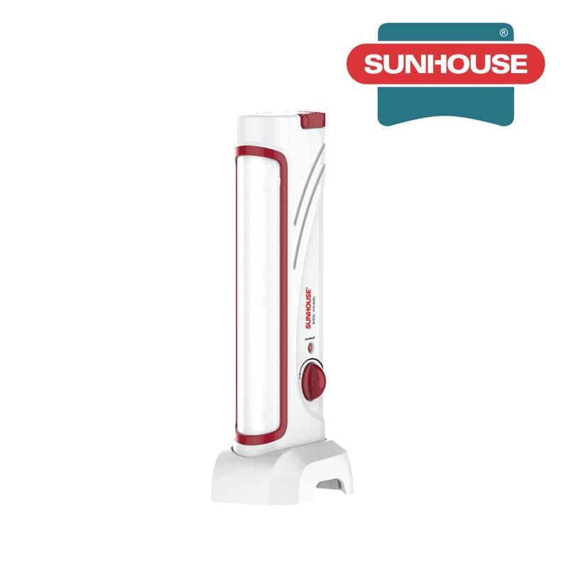 Bảng giá Mua Đèn tích điện đa năng Sunhouse SHE8040L nhỏ (Trắng đỏ)