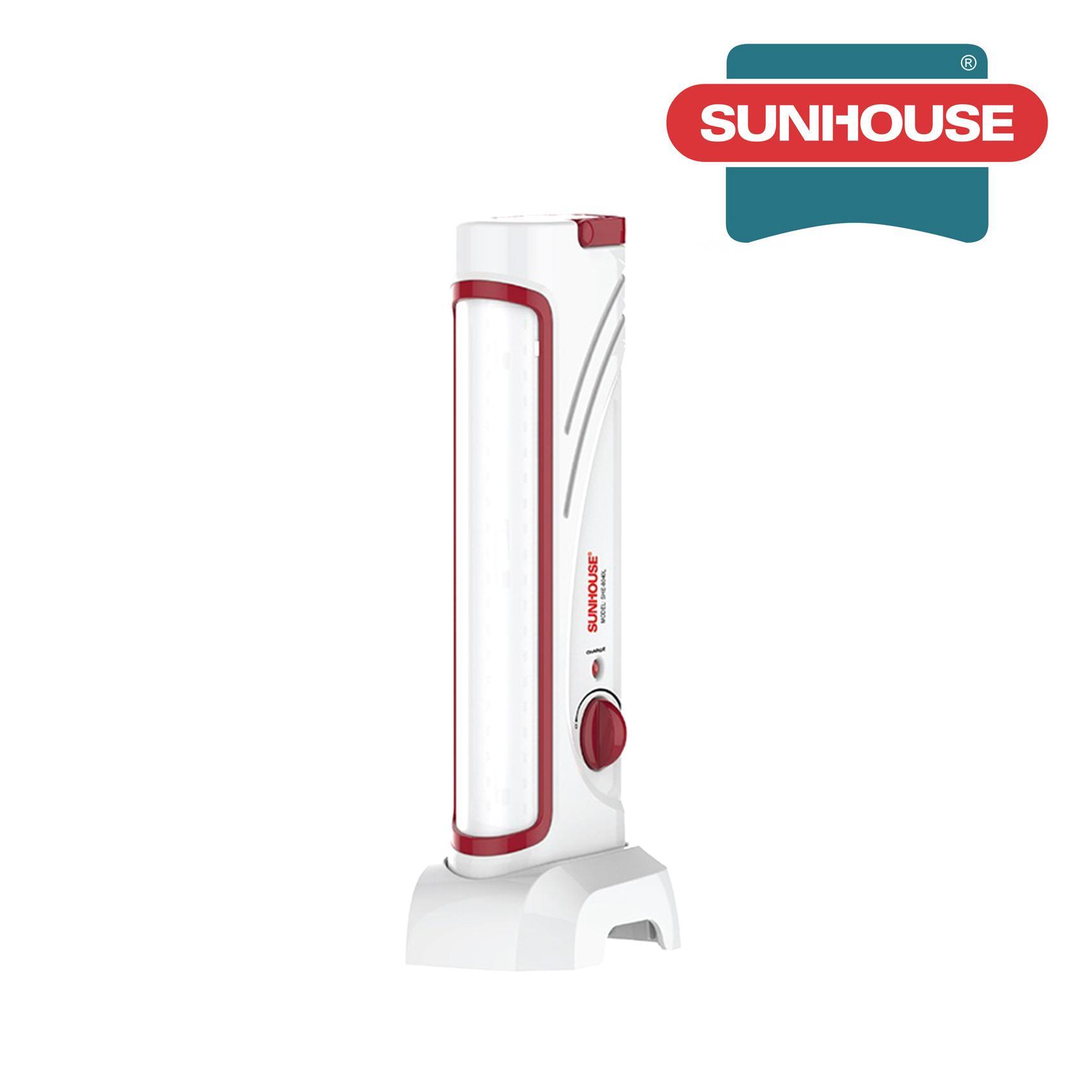 Đèn tích điện đa năng Sunhouse SHE8040L nhỏ (Trắng đỏ)