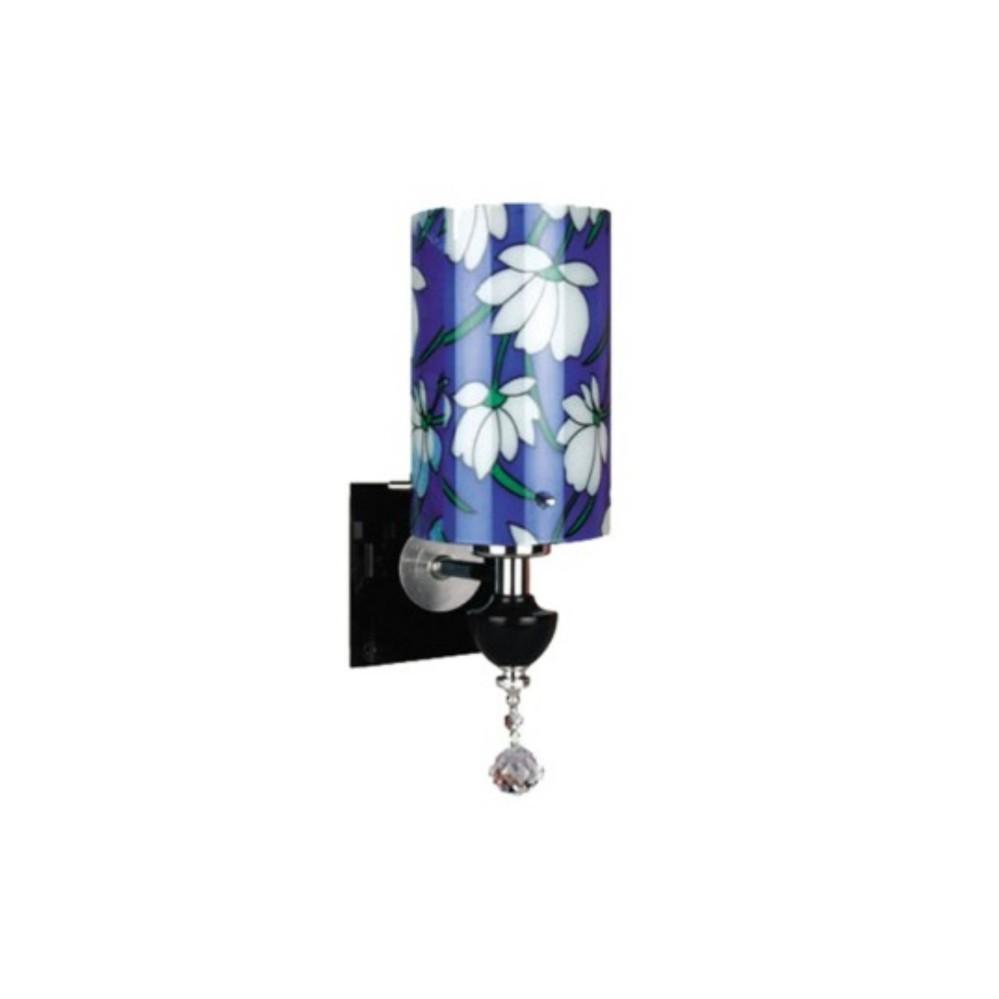 Đèn tường trang trí hoa xanh KQ_NV 8209/1C (Tặng kèm bóng)