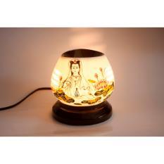 Đèn xông tinh dầu gốm sứ bát tràng Dmastore