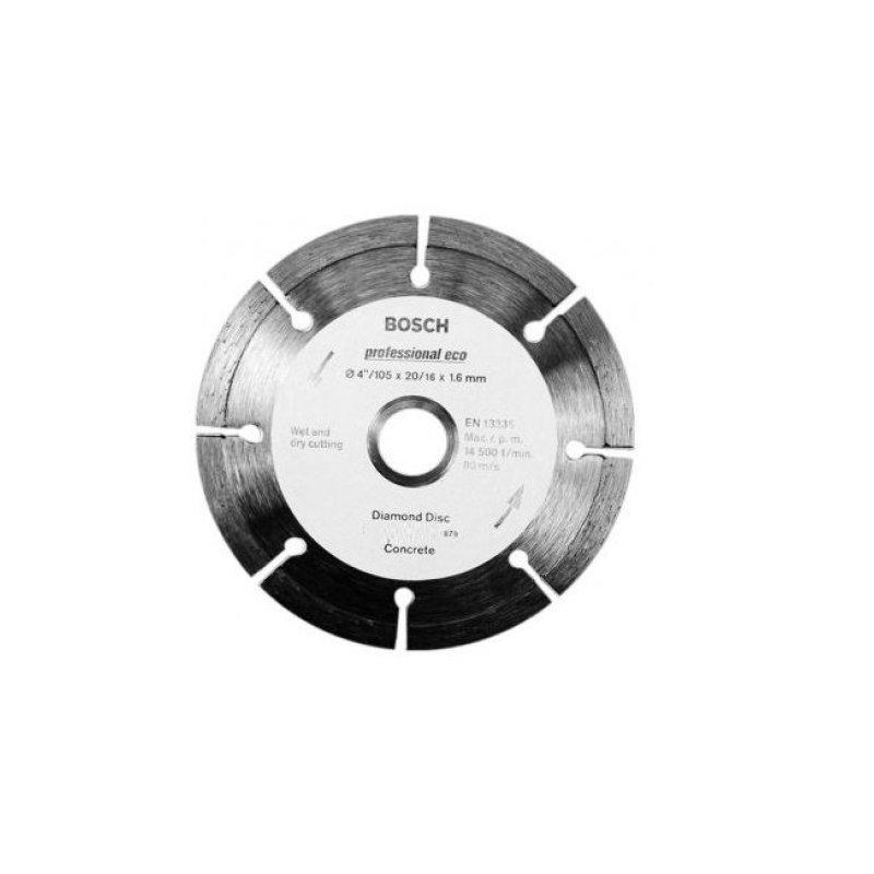 Đĩa cắt bê tông Bosch 2608602178 Đường kính 105mm (Xanh phối đen)