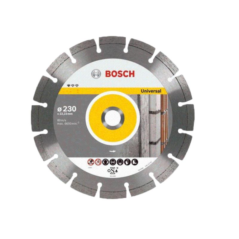 Đĩa cắt đa năng Bosch 2608602468 230 x 2.3 x 22.2mm (Xám)