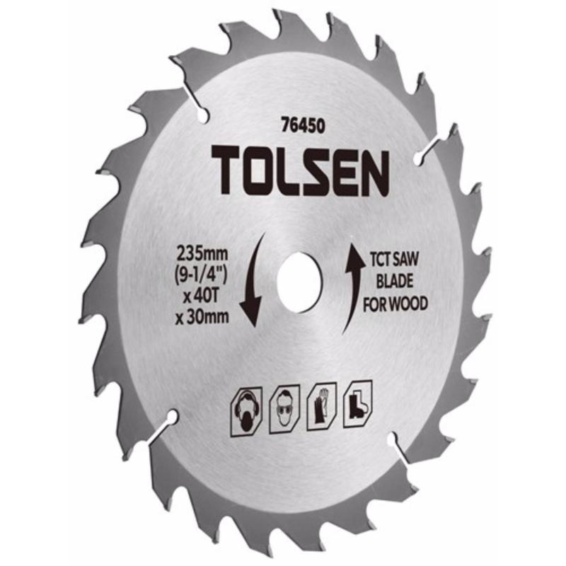 ĐĨA CẮT GỖ TOLSEN 76410- 110mm*40T*20mm