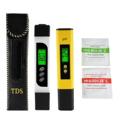Digital pH Meter + LCD TDS Water Purity PPM Filter Hydroponic Tester Pen - intl