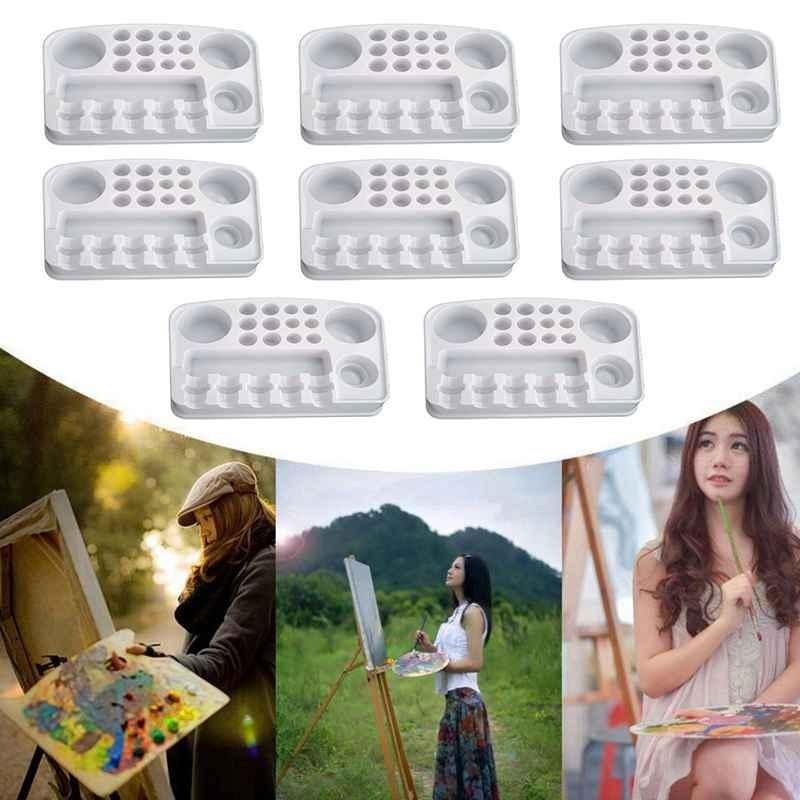 Mua Disposable Tattoo Tray Palettes Tattoo equipment Plastic Rectangle Palettes - intl