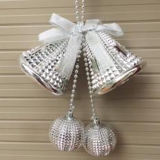 Đôi chuông gai D=10cm trang trí giáng sinh Noel