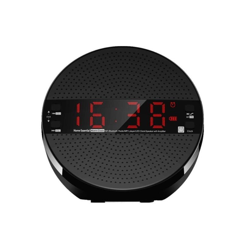 Nơi bán Đồng hồ báo thức Bluetooth 4.2 Hỗ trợ Loa đài FM trong  Thẻ TF - intl