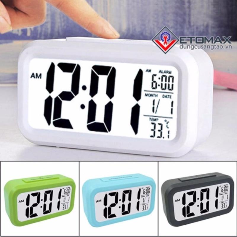 Nơi bán Đồng hồ báo thức cảm biến phát sáng trong đêm