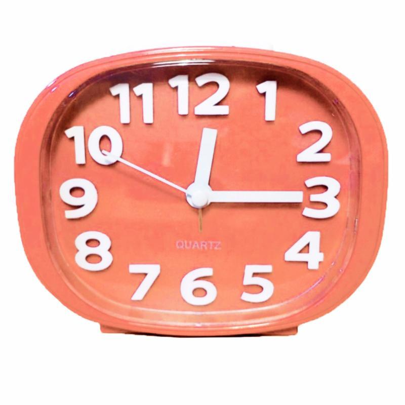 Nơi bán Đồng hồ báo thức có đèn Standard clock TI279 Hồng nhạt