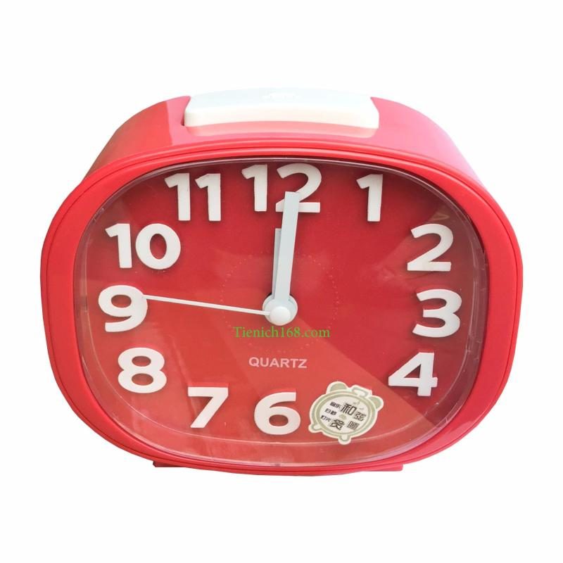 Nơi bán Đồng hồ báo thức để bàn cao cấp Standard Clock Đỏ RCB339