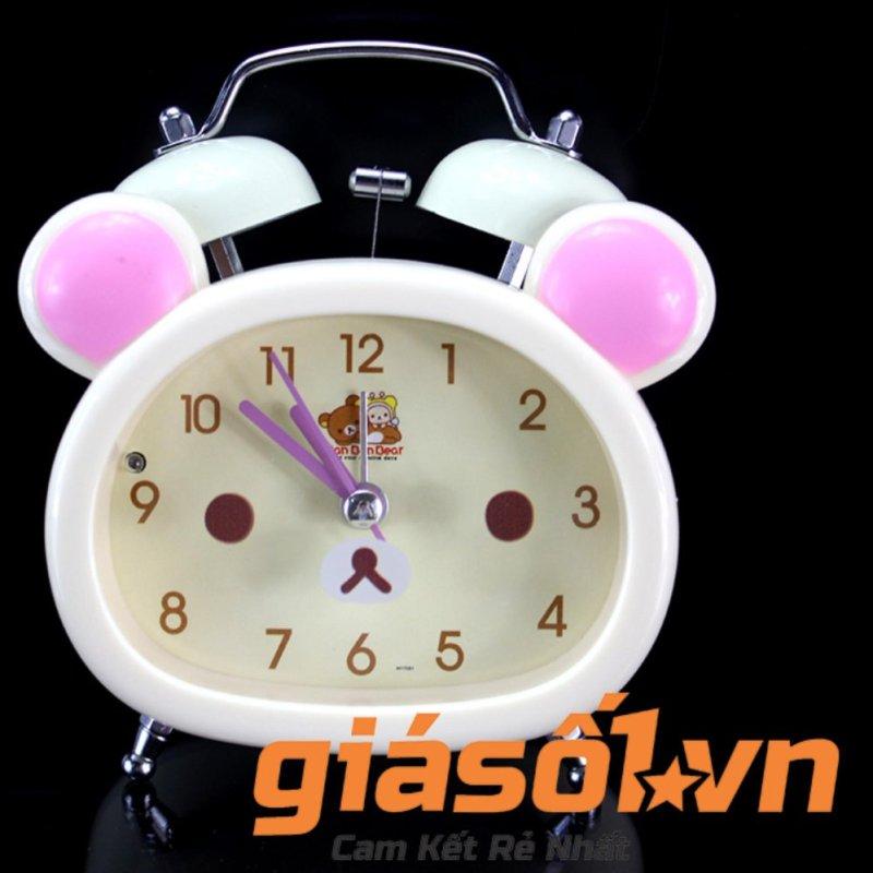 Nơi bán Đồng hồ báo thức để bàn cho bé 17051 (Trắng)