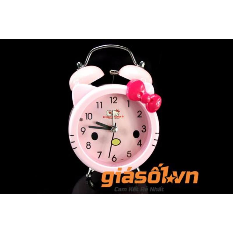 Đồng hồ báo thức để bàn cho bé 17063 (Hồng) bán chạy