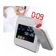 Đồng hồ báo thức để bàn đa năng, màn hình màu kiêm đèn ngủ