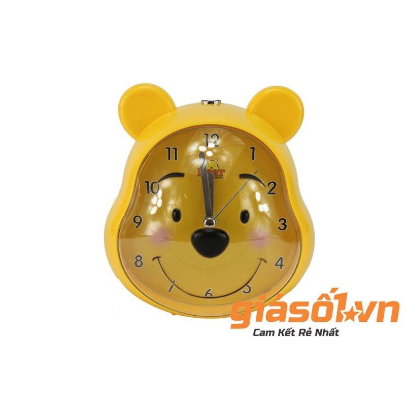Nơi bán Đồng hồ báo thức để bàn hình con gấu AY19011 (Vàng)