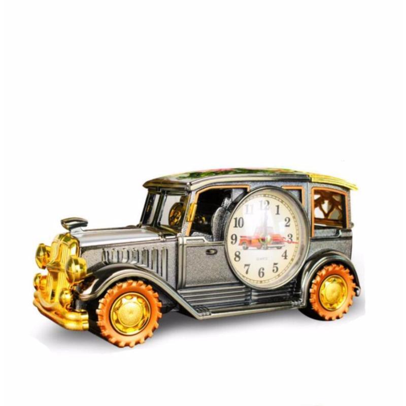 Nơi bán Đồng hồ báo thức để bàn hình xe hơi cổ điển,cực kì sang trọng (Vati.vn)