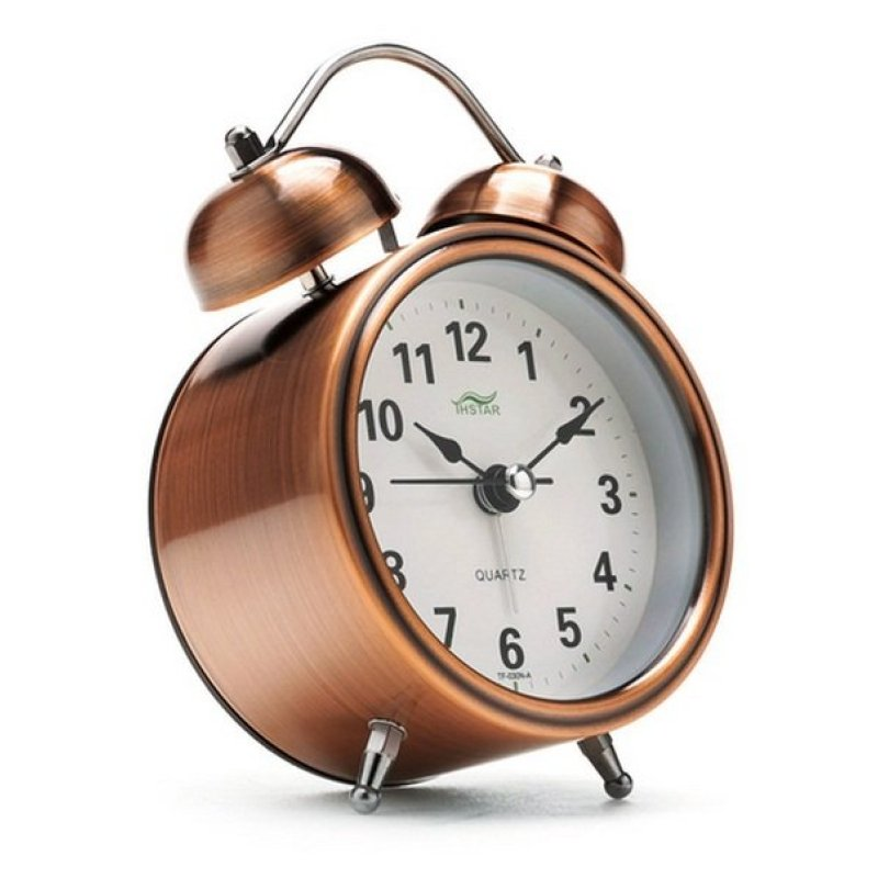 Nơi bán Đồng hồ báo thức để bàn History Alarm Tienich247 TI0184 (Nâu)