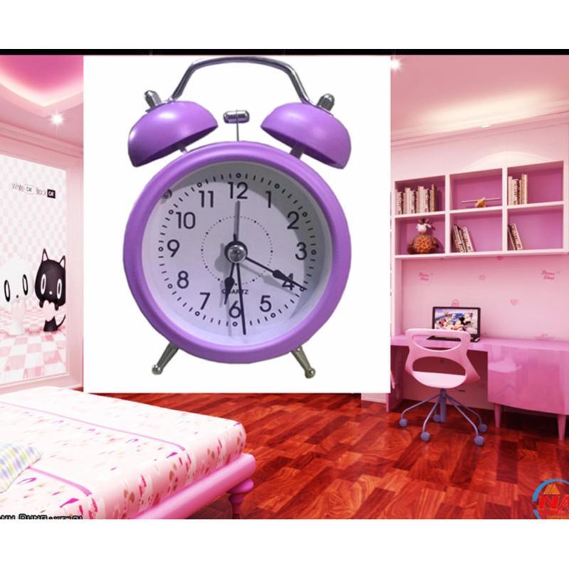 Nơi bán Đồng hồ báo thức để bàn Mini Alarm (Tím)