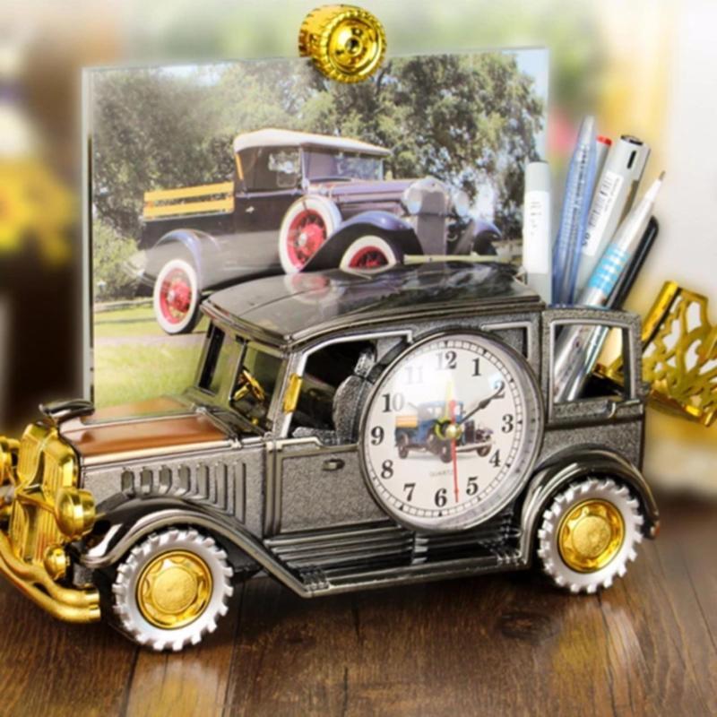 Nơi bán Đồng hồ báo thức để bàn Vati hình xe hơi cổ điển,cực kì sang trọng
