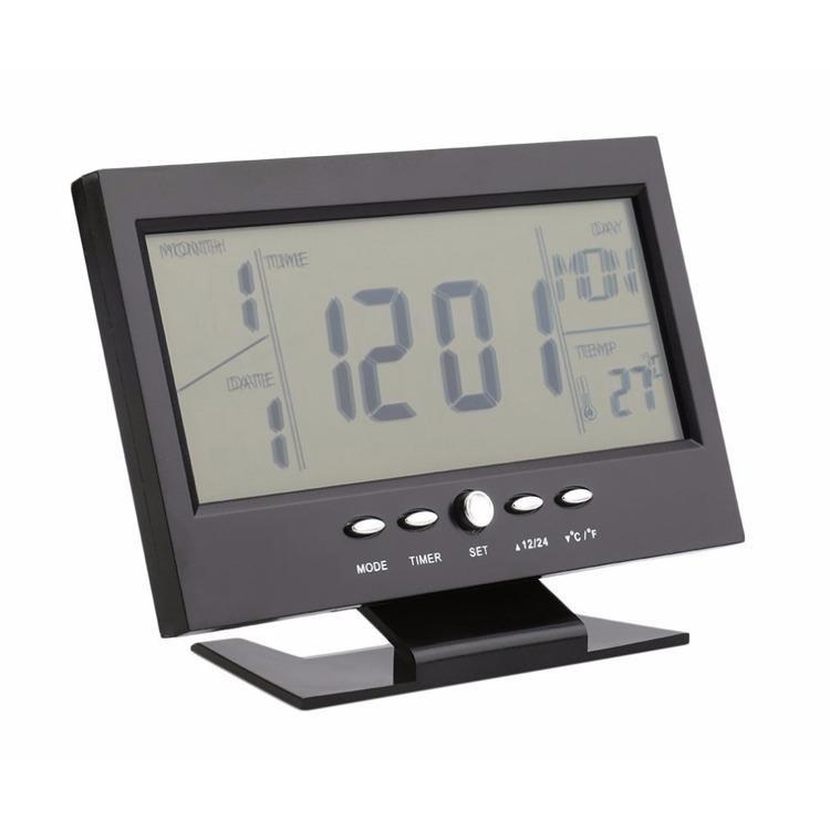 Nơi bán Đồng hồ báo thức điện tử đa chức năng thông minh cảm biến âm thanh  ...