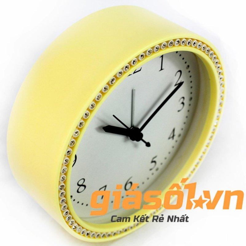 Nơi bán Đồng hồ báo thức King Time đính đá - US003 (Vàng)