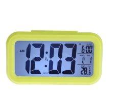 Đồng hồ báo thức kỹ thuật số với đèn LED nền cảm biến đa chức năng LC01 (Xanh lá) 1000000194
