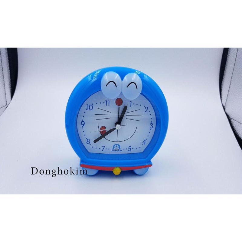Nơi bán Đồng hồ báo thức mặt Doremon dễ thương, đồng hồ báo thức chất lượng màu xanh dương