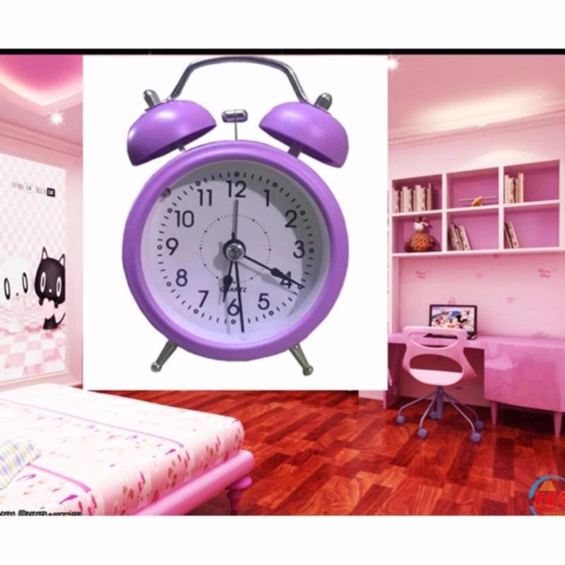 Đồng hồ báo thức mini cao cấp Mini Alarm (Tím) bán chạy