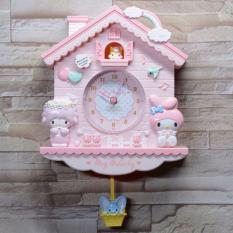 đồng hồ cho bé ngôi nhà các nhân vật hoạt hình đáng yêu My melody