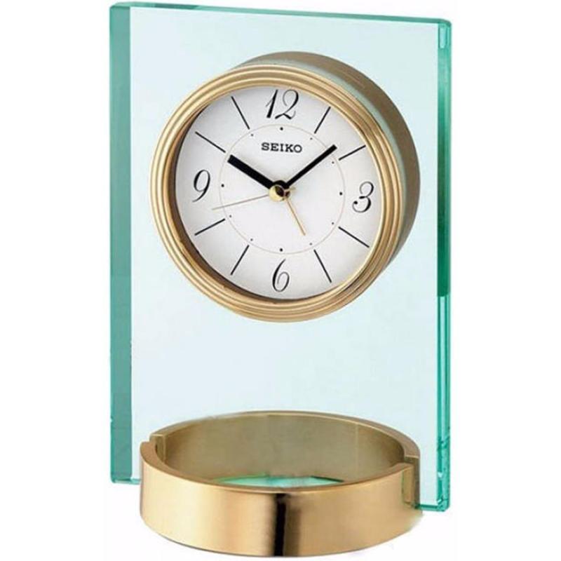 Đồng hồ để bàn báo thức Seiko QHE054GN bán chạy