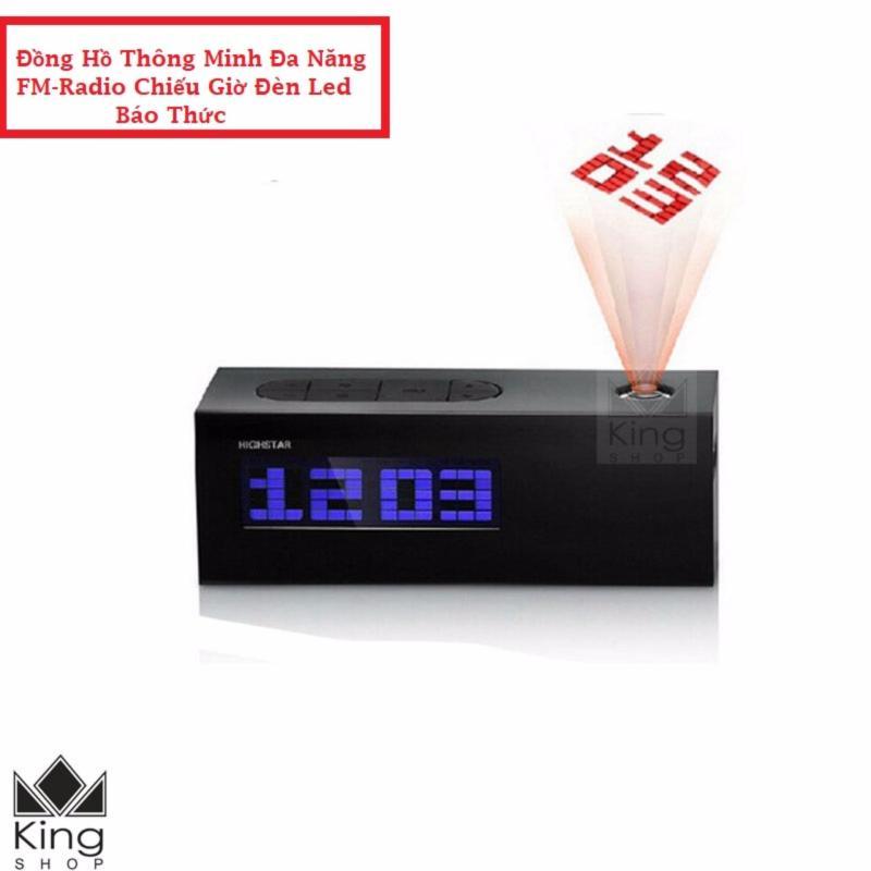 Đồng Hồ Để Bàn Đèn LED FM Radio Báo Thức Cao Cấp ML00225 bán chạy