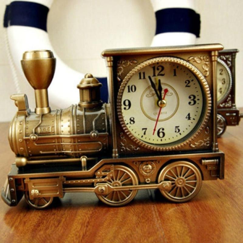 Nơi bán Đồng hồ để bàn hình đầu xe lửa, có báo thức