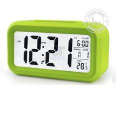 Đồng hồ điện tử để bàn đèn led cảm biến đa chức năng thanh khang 010000034 ( màu xanh chuối)