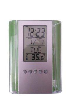 Đồng hồ điện tử để bàn văn phòng d464
