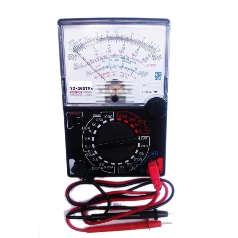 Đồng hồ đo cho thợ sửa chữa điện YX-360TR (Đen phối trắng)