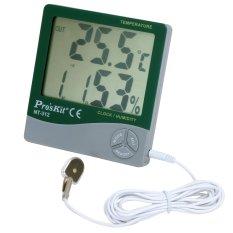 Đồng hồ đo nhiệt độ độ ẩm Proskit NT-312 (Trắng phối xanh)