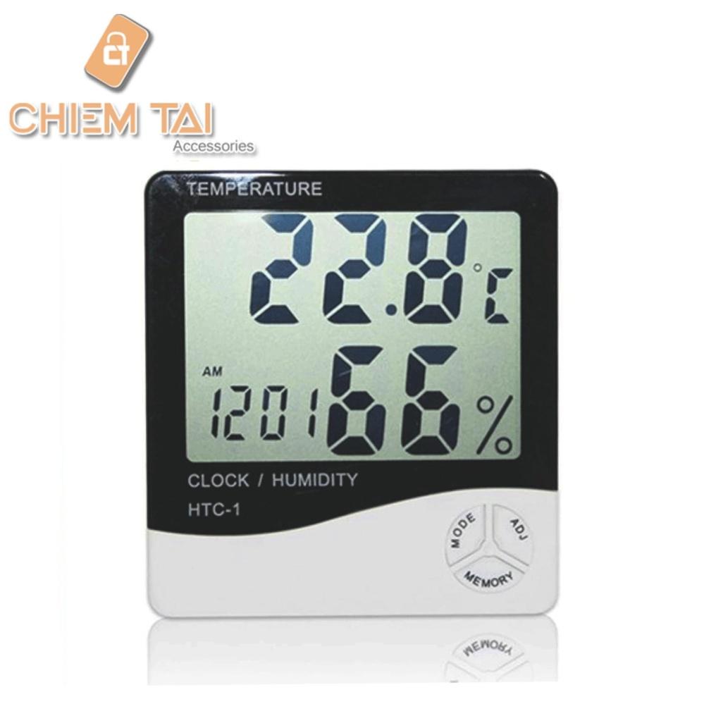Đồng hồ đo nhiệt độ và độ ẩm HTC-1