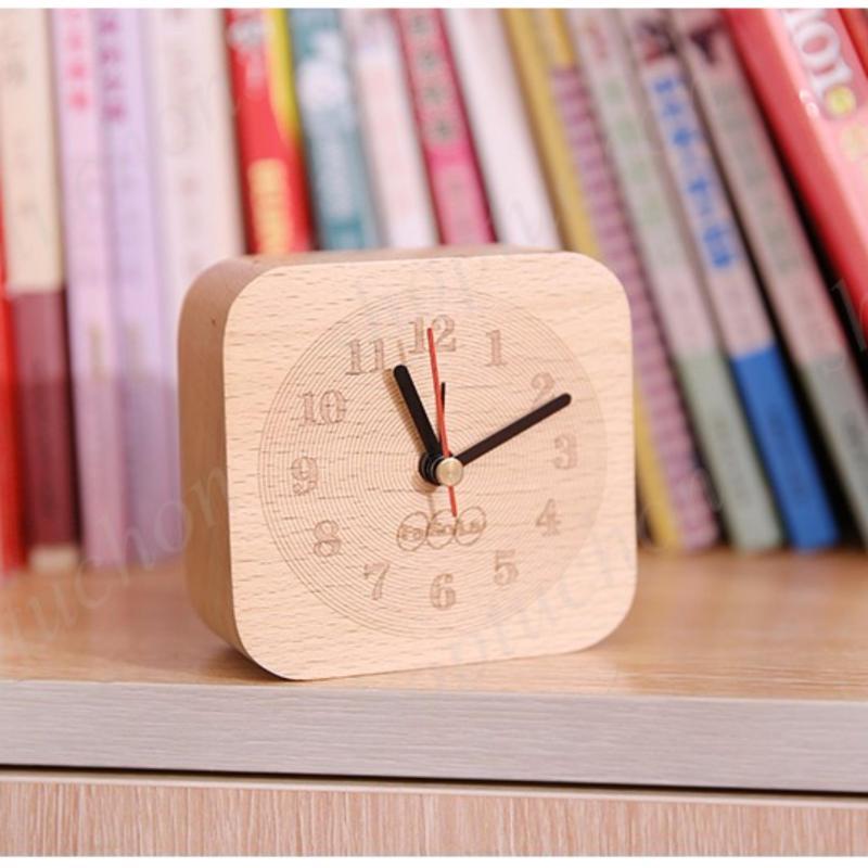 Nơi bán đồng hồ gỗ sồi liền khối, đồng hồ báo thức, đồng hồ trang trí nội thất đặc sắc