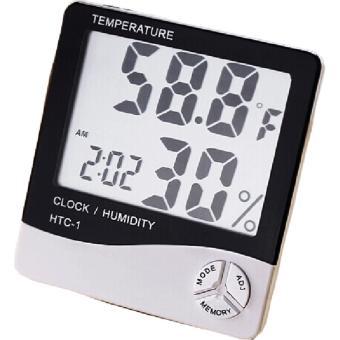 Đồng hồ thông minh đo nhiệt độ và độ ẩm hiện đại - 2