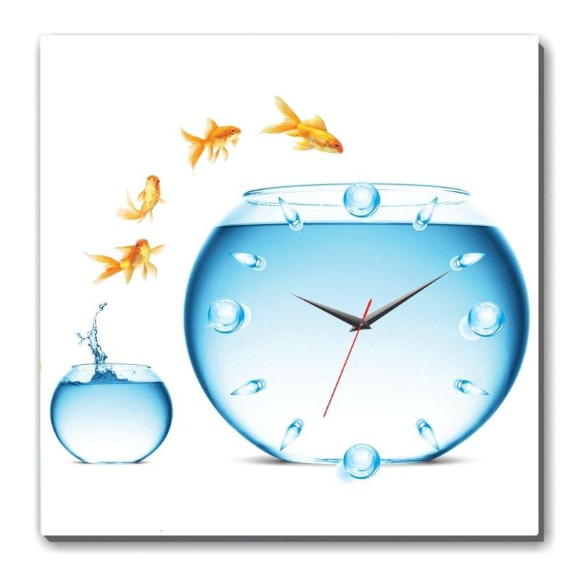 Nơi bán Đồng hồ tranh Cá Vàng Dyvina 1T3030-44