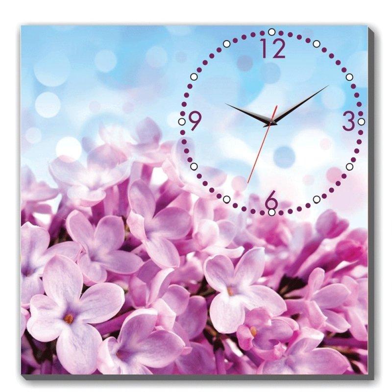 Nơi bán Đồng hồ tranh chùm hoa tím Dyvina 1T3030-20