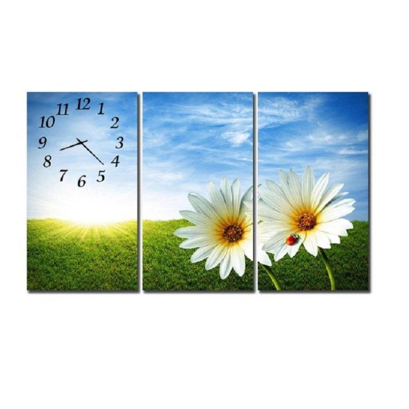 Nơi bán Đồng hồ tranh cúc trắng SueMall HL1355
