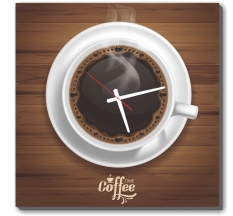 Giá Khuyến Mại Đồng hồ tranh Ly cà phê Dyvina 1T3030-48