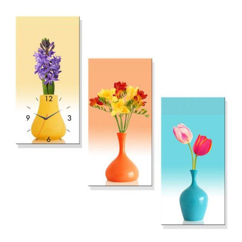 Nơi bán Đồng hồ tranh Nghệ Thuật Cắm Hoa Dyvina 3T3060-14