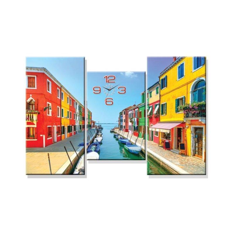 Nơi bán Đồng hồ tranh Thành phố Venice Dyvina 3T-2