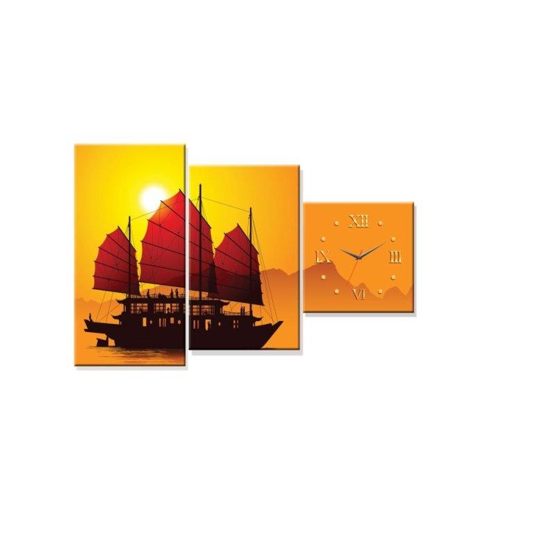 Nơi bán Đồng hồ tranh Thuận buồm xuôi gió Dyvina 3T-1