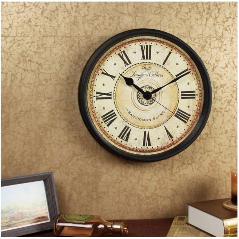 Nơi bán đồng hồ treo tường Blanc La Mã D31