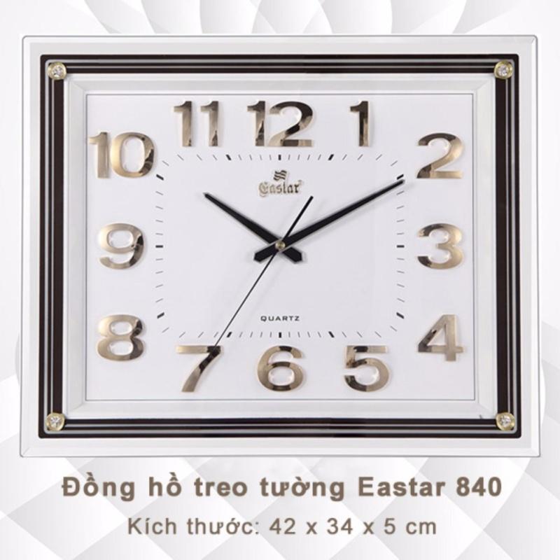 Nơi bán Đồng hồ Treo tường Chữ nhật - Bộ số Ánh kim