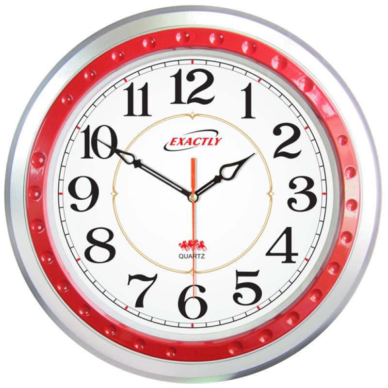 Nơi bán Đồng hồ treo tường EXACTLY U140 (Đỏ)